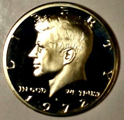 1972-S 50C Kennedy Half Dollar 18ott0201 GDC Proof Clad 50 Cents for Shipping