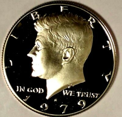 1982-S 50C Kennedy Half Dollar 17loc0401 GDC Proof Clad 50 Cents for Shipping