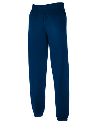 Kids/Childs Fruit of the Loom Classic Sweatpants/Jog pants  - Navy - 5-6 years