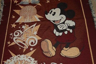 Mickey Mouse Walt Disney theme parks throw blanket