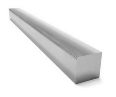 """Square Stock 304 Stainless Steel 3/8 x 3/8 x 72""""  Solid Square  6 ft. Long Bar"""