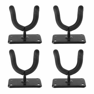 4pcs Guitar Bass Hanger Hook Holder Wall Mount Display Strong Stand Rack Bracket