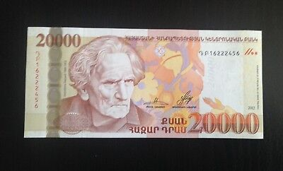 2018 HYBRID ARMENIA NEW TYPE FULL SET CURRENCY UNCIRCULATED MONEY BANKNOTE