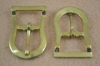 """Buckle Halter Brass Plated 3//4/"""" Double Bar Pack of 8 B25"""
