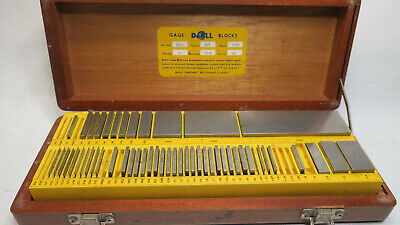 Do-All Grade A+ 63-Piece Gage Gauge Block Set .010 to 4 in (54-R) *MISSING