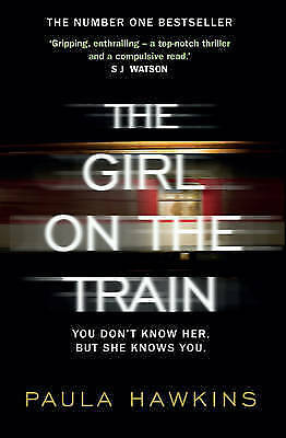 """VERY GOOD"" The Girl on the Train, Hawkins, Paula, Book"