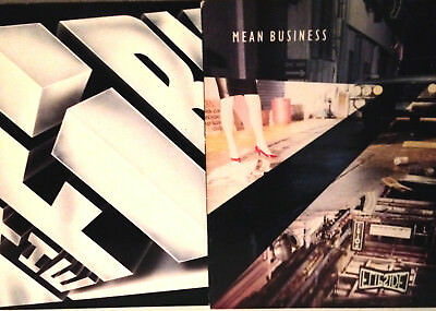 "THE FIRM - Mean Business & The Firm - 12"" Vinyl Record LP 2x Lot - EX Jimmy Page"