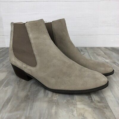 25069821e9c NORDSTROM RACK 14TH   Union Women s Size 11M Gray Suede Ankle Boots ...