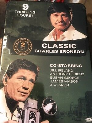 Classic Charles Bronson (2 DVD Set Steelbook) Factory Sealed