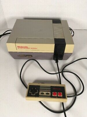 Nintendo Entertainment System NES Console ORIGINAL CONTROLLER *