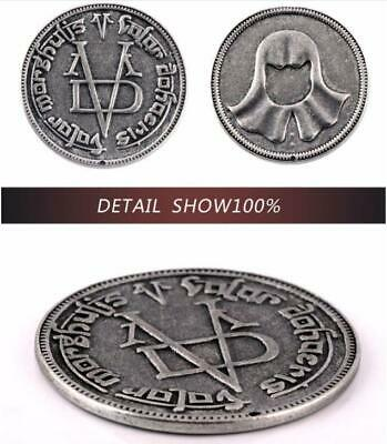 2019 3.8cm Game of Thrones Coin Valar Morghulis Faceless Man Iron Coin Fans Gift