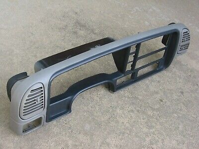 95-99 GM CHEVY Suburban Tahoe Yukon Silverado Dash Instrument Panel Trim  Gray