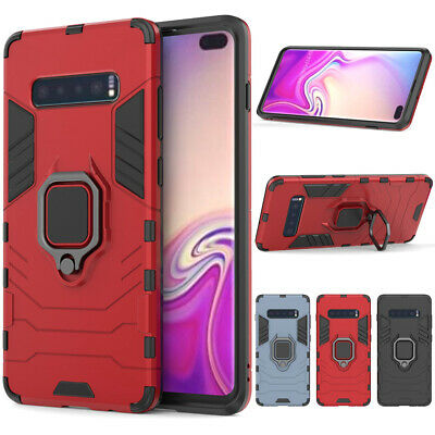 Heavy Duty Shockproof Hard Armor Cover Case For Samsung Galaxy S10+ Plus S10e