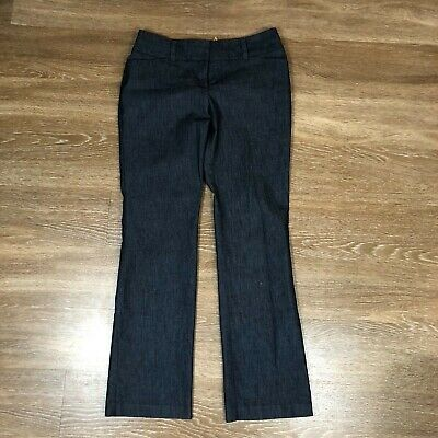 c72b093f7 New York & Company 7th Avenue Pants Size 6 Inseam 30 Blue Bootcut Women's  (A95