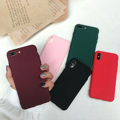 Case for iPhone X Xs 8 7 Plus XR XS MAX ShockProof Soft Phone Cover TPU Silicone