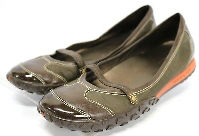 b5346e0ea Cole Haan Nik Lab Mary Jane  90 Women s Slip On Loafers Flat Shoes Size 9  Brown