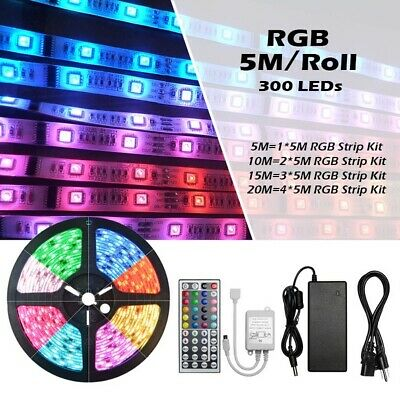 Waterproof Commercial RGB LED Strip Light 5050 Colour Changing 240V Rope String