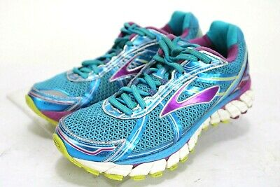 c3a4151bef46a Brooks Adrenaline GTS 15  112 Women s Running Shoes Size 8.5 Aqua Blue