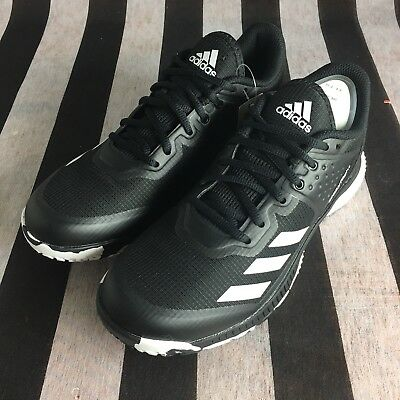 7b9f34a0d Adidas Women s Crazyflight Bounce Volleyball-Shoes Mystery Ink White Ice Sz  7.5
