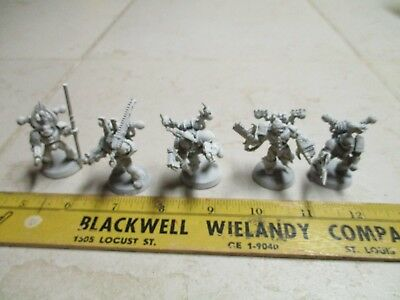 GW Games Workshop Warhammer 40k Chaos Space Marine Squad Primed Plastic Lot2