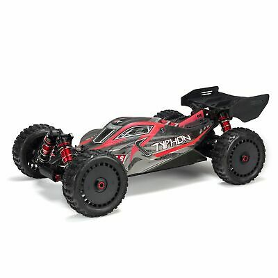 ARRMA NEW1/8 TYPHON 6S BLX 4WD Brushless Buggy RTR 2019 Ver, Red/Grey