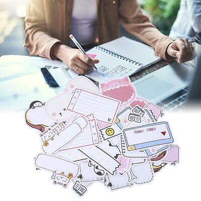 45pcs Cute Cartoon Paper Stickers Label DIY Scrapbook Diary Album Decor Stickers