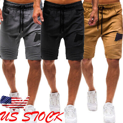 Mens Army Military Combat BDU Shorts Hunt Camp Fishing Casual Camo Cargo Shorts