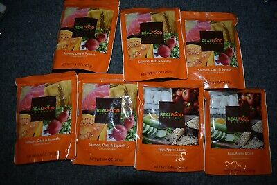 7 Real Food Blends Oats Salmon Egg Feeding Tube Blended Meal FREE PRIORITY AIPN