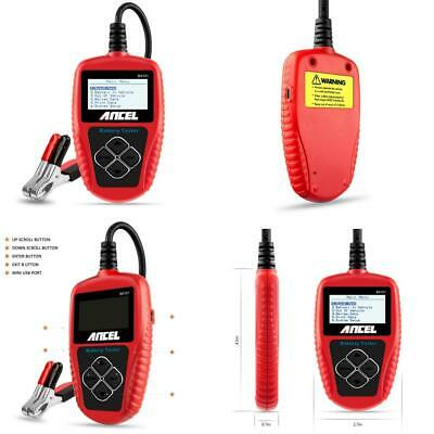 ANCEL BST500 12V/24V 100-2000 CCA Automotive Battery Load Tester, Car...
