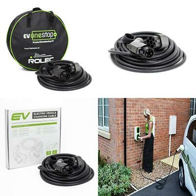 EV / Electric Vehicle Charging Cable | Type 1 to 2 | 32 Amp(7.2kW) | 10...
