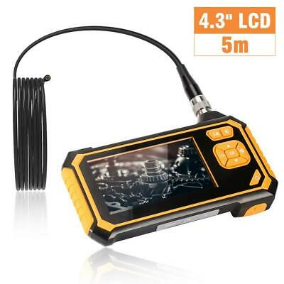 ROTEK Industrial Endoscope, Inspection Camera 4.3 Inch Color LCD Screen,...