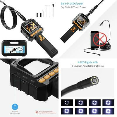 HOMIEE Borescope Inspection Camera with LCD Monitor Screen and Video...