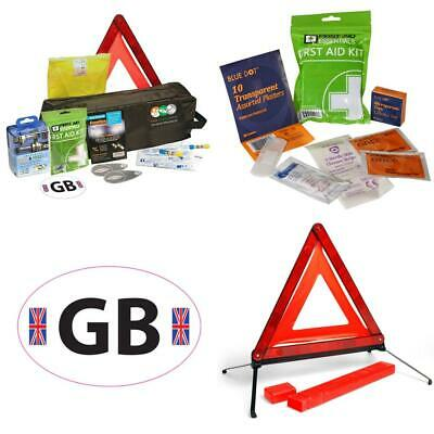 8 Piece European Travel Kit for Driving Abroad Quality Ultimate Safety...