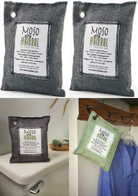 MOSO NATURAL Air Purifying Bag, Home/Car Moisture Absorber and Activated...