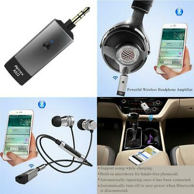 Airfrex Aluminum Bluetooth Receiver with Headphone Amplifier and Optional...