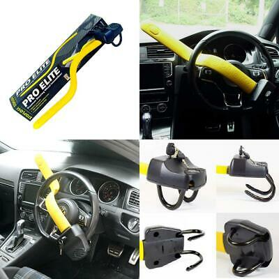 Stoplock HG 150-00 Steering Wheel Lock Pro Elite - Black/Yellow