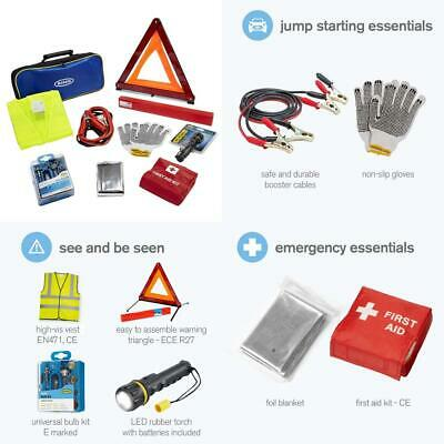 Ring RCT2 9 Piece Emergency Car Kit, with Universal Spare Bulb Booster...