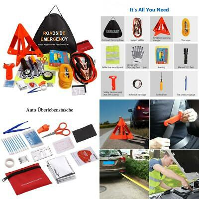 Car Emergency Kit, 76 in 1 Multifunctional Roadside 76 In 1 Safety Kit