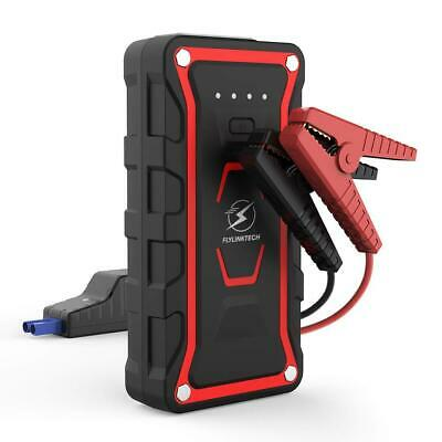 Flylinktech Car Battery Booster Jump Starter (All Gas and Diesel under 7.0L)...