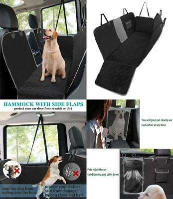 MANCRO Dog Car Seat Covers, Rear Cover for Dogs with Mesh Viewing...