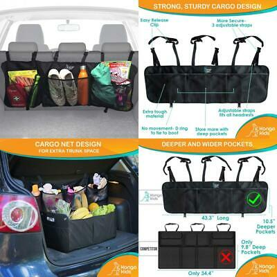 KangoKids Boot Organiser for Car and SUV With 4 Large Pockets