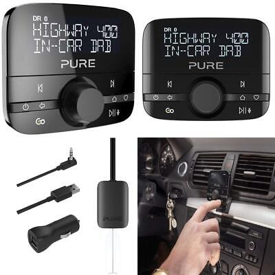 Pure Highway 400 In Car DAB Radio Adapter - Bluetooth Music - Spotify...