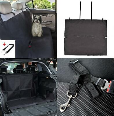 Pettom Rear Car Seat Cover Waterproof Dog 47 x 56 Inches, 47 x 56 Inches