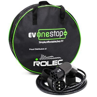 EV/Electric Vehicle Charging Cable | Type 2 to 2 | 16 Amp(3.6kW) | 5 Meter |...