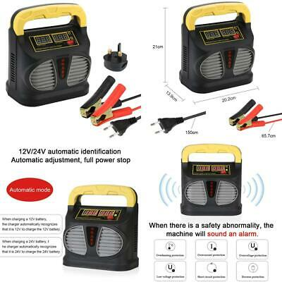 Car Battery Charger and Maintainer, 6A 12V Automotive Charger/Maintainer...
