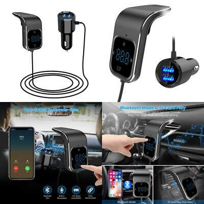 ELEGIANT Bluetooth FM Transmitter, BT4.2 Wireless Car Radio Audio Upgraded