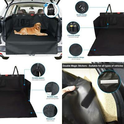 PullPritt Dog Car Seat Cover, Universal Waterproof & Scratch Proof Back Boot...