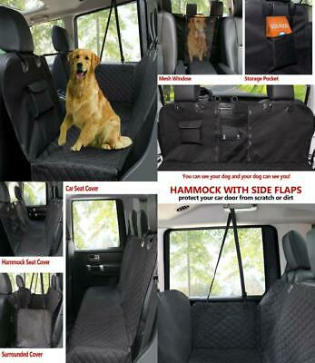 Dog Car Seat Covers,Pet Rear Cover,Waterproof and Scratch Proof Nonslip Back...