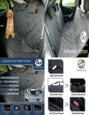 Petastical Best Car Seat Covers for Dogs | Waterproof Black