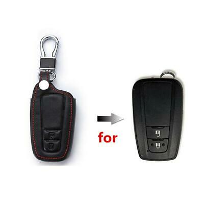 Happyit Leather Car Key Cover Case for Toyota CHR C-HR 2017 2018 Prius 2...